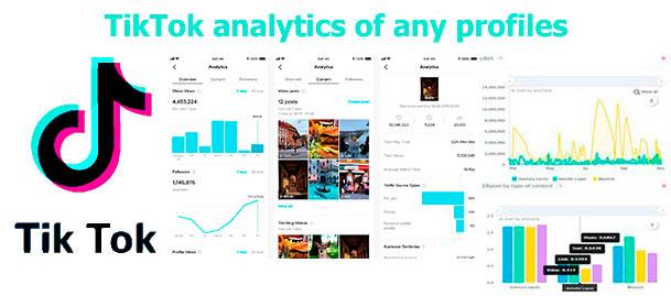 Free TikTok analytics